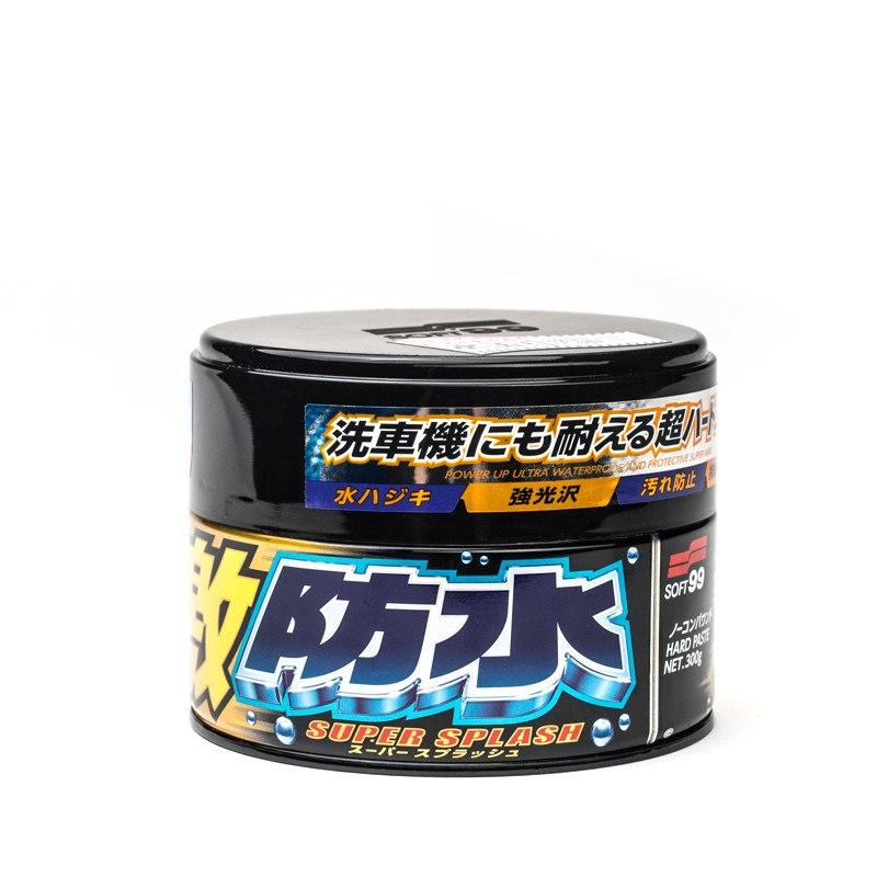 Soft99 Water Black Super Splash Dark 300g (Twardy wosk) - GRUBYGARAGE - Sklep Tuningowy